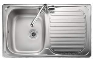 Rangemaster Sinks -  Leisure Linear Compact 1.0b Ss Sink