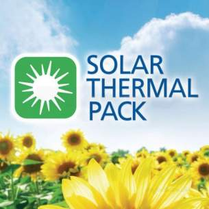 Vaillant Solar Thermal Products -  Vaillant A/therm Plus 150v Concrete 2 Panel