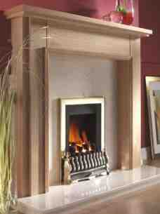 Flavel Gas Fires -  Flavel Stirling Sc Gas Fire Ng Brass