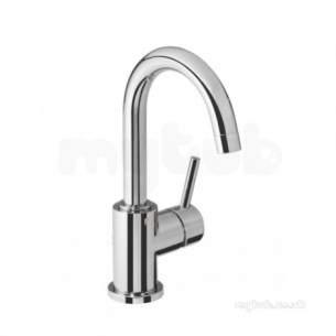 Roper Rhodes Taps -  Storm Side Action Basin Mixer With Popup