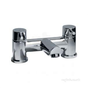 Roper Rhodes Taps -  Storm Bath Filler Deck Mounted Chrome