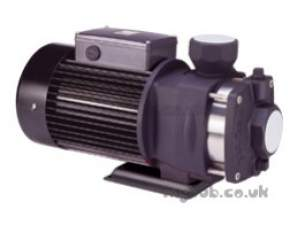 Walrus Horizontal Booster Pumps -  Walrus Tph8t4k 3ph Booster Pump 1 1/2 Inch Bsp
