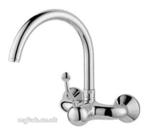 Rangemaster Brassware -  Leisure Roma Tra1 Tap Brushed Finish