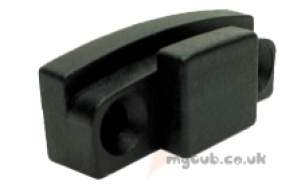 Hobart Commercial Catering Spares -  Hobart 142352 Guard Rail Block Hooked