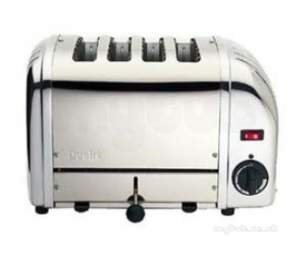 Dualit Appliances -  Dualit 4 Slice Bread Toaster Polished