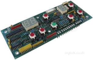 Tom Chandley Bakery Parts -  Chandley 732040 Steam And Time Pcb Mk4