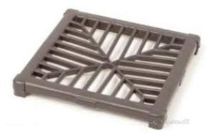 Polypipe Underground Drainage -  110mm Square Gully Grating Ug415