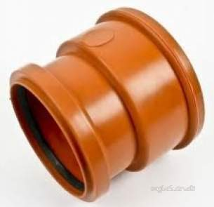 Polypipe Underground Drainage -  110mm S.clay Pipe Adap Skt/skt Ug434