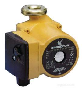Grundfos Residential Commercial Hvac -  Grundfos Ups 25-80 1ph Pump Sh No Fittings 95906429