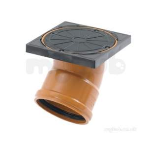 Marley Underground -  110mm X 135d Rodding Point Terminal Urp1