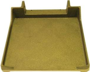 Tecline Catering Spares -  Bertos 30841600 Lower Smooth Plate