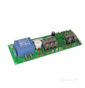 Merrychef Microwaves Ltd -  Merrychef 11c0286 Relay Pcb Assy