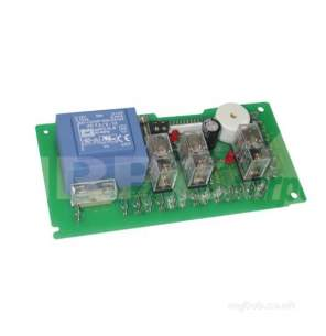 Merrychef Microwaves Ltd -  Merrychef 11m0327 Relay Pcb Assy