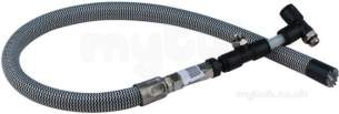 Hobart Commercial Catering Spares -  Hobart Rac1013 Flexible Pipe Kitsavuc0010