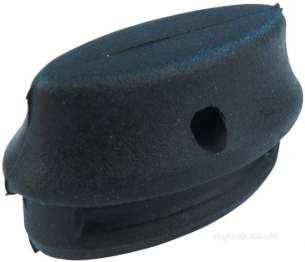 Hobart Commercial Catering Spares -  Hobart 886609 Pk 4 Black Rubber Plugs