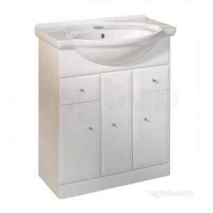 Roper Rhodes Furniture -  Valencia Vb700w 700mm Base Unit White