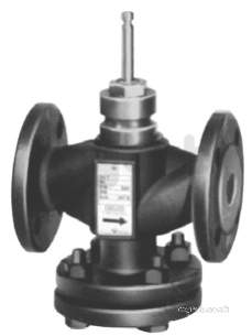 Landis and Staefa Hvac -  Siemens Vvf40.65-63 65mm 2port Valve Cv-63.0