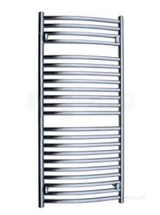 Design and Decorative Radiators -  Wolseley Vagas 1755 X 600 Curved White