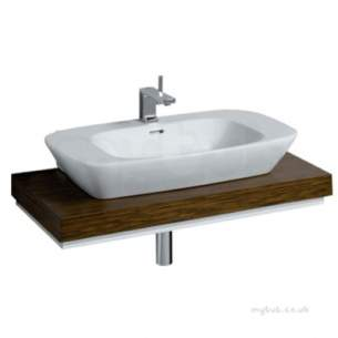 Twyford Moda Sanitaryware -  Twyford Vello 1000 Shelf Wenge Vo0063we