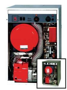 Grant Uk Oil Boilers -  Grant Vortex 26 Outdoor He Combi Oil Blr