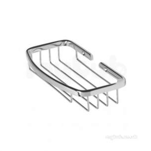 Roper Rhodes Accessories -  Madison Wb20.02large Soap Basket Chrome