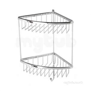 Roper Rhodes Accessories -  Madison Wb50.02 Double Corner Basket Ch