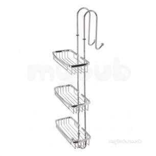 Roper Rhodes Showers -  Madison Wb70.02 Shower Caddy Chrome