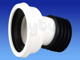 Wavin Certus Products -  110mm Easyfit Pan Connector 14 Cwc143w