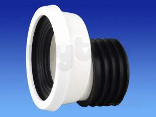 Wavin Certus Products -  110mm Easyfit Pan Connector Of Cwc203w
