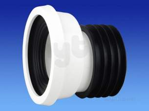 Wavin Certus Products -  40mm Offset Wc Conn Fin Seal Cwc204w