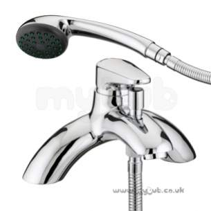 Bristan Brassware -  Jute Single Lever Bath/shower Mixer Cp