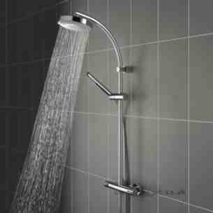 Bristan Showering -  Aqueous Bar Shower D/c And Integ Diverter Cp