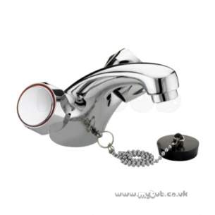Bristan Brassware -  Club Basin Mixer-ex Heads Ex Waste Cp