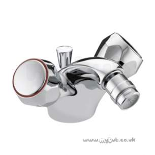 Bristan Brassware -  Club Bidet Mixer-ex Heads And Puw Cp