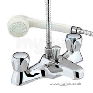Bristan Brassware -  Club Luxury Bath/shower Mixer-cp Hds Cp