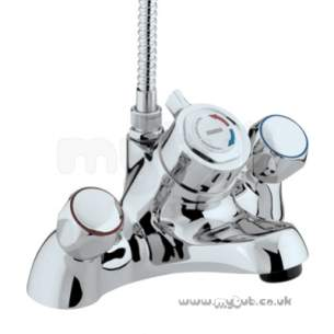 Bristan Brassware -  Club Bath Filler C/w Thermo Shower Cp