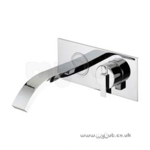 Bristan Brassware -  Chill Wall Mounted Bath Filler Cl Wmbf C