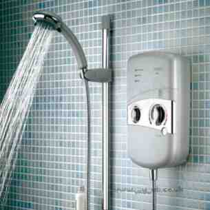 Bristan Showering -  Bristan 8.5kw Electric Shower White