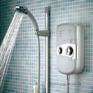 Bristan Showering -  Bristan 9.5kw Electric Shower White