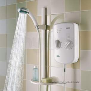 Bristan Showering -  Bristan Evo 9.5 Electric Shower White
