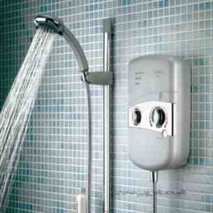 Bristan Showering -  Bristan 10.4kw Electric Shower White