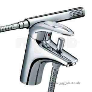 Bristan Brassware -  Bristan Java 1h Bath Shower Mixer Cp