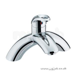 Bristan Brassware -  Java Single Lever Pillar Bath Filler Cp