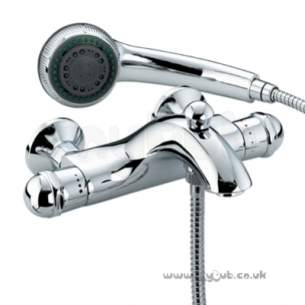 Bristan Brassware -  Meridian Hp Therm W/m Bath/shower Mixer Cp