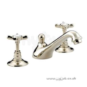 Bristan Brassware -  1901 3th Basin Mixer And Puw Gp N 3hbas G