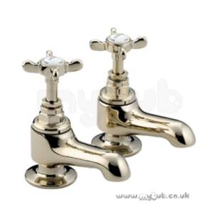 Bristan Brassware -  Bristan 1901 Bath Taps Pair Chrome