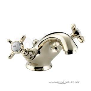 Bristan Brassware -  Bristan 1901 Basin Mixer And Puw Gp