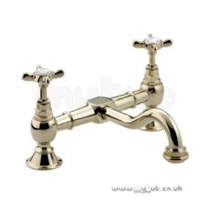 Bristan Brassware -  Bristan 1901 Bridge Basin Mixer Gp