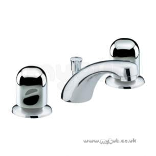 Bristan Brassware -  Options 3th C/disc Basin Mixer And Puw Cp