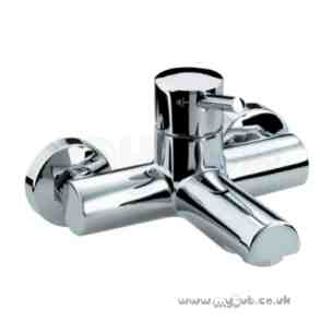 Bristan Brassware -  Prism Wall Mounted Bath Filler Cp Pm Wmbf C